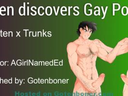 Goten discovers Gay Porn?!