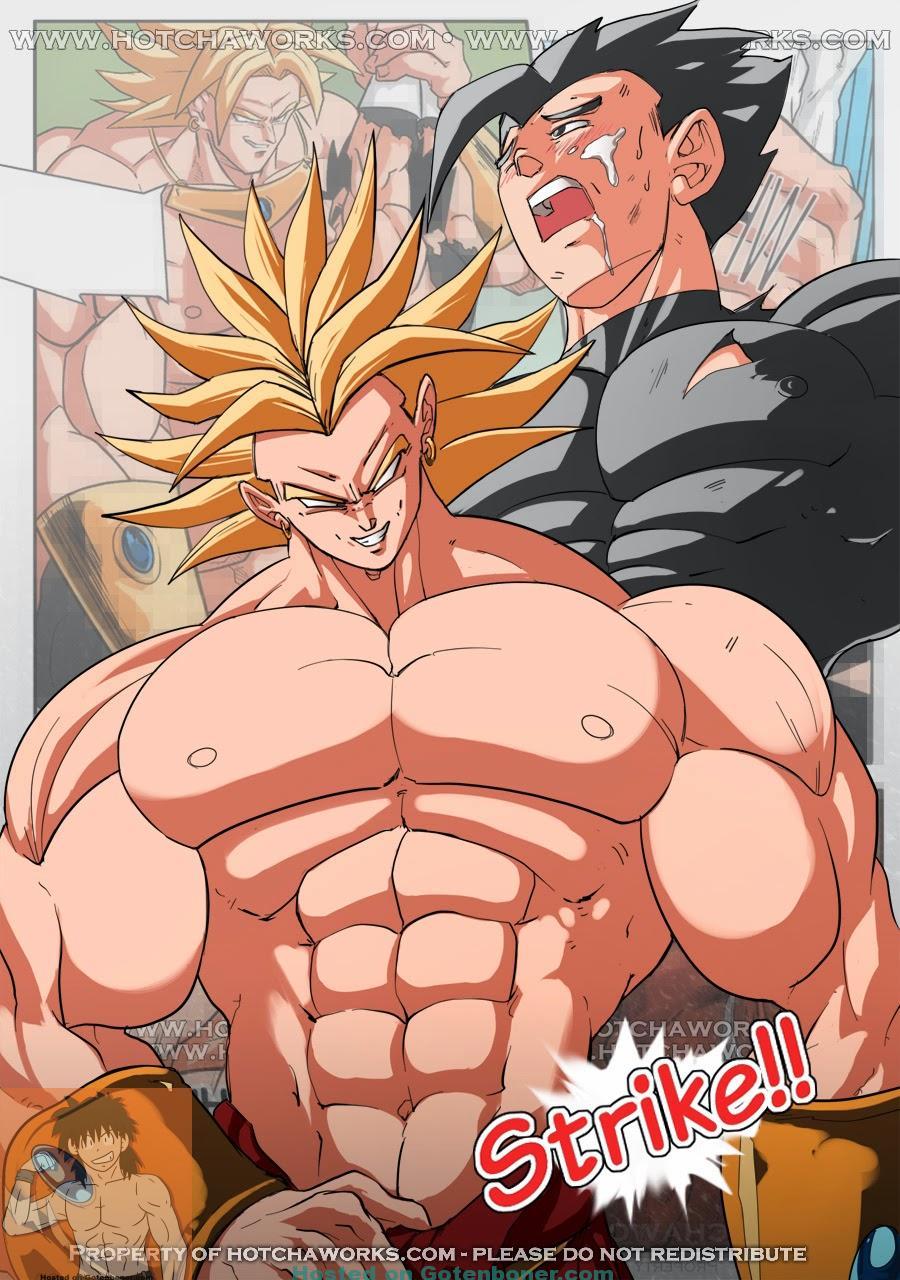 DBZ Strike Comic by Hotcha - Cover